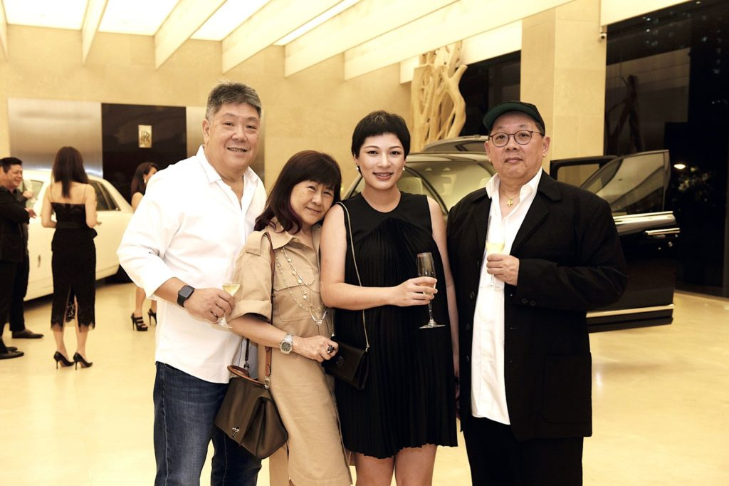 Raymundo and Nancy Yu, Ida Zhou and Jeffrey Sng