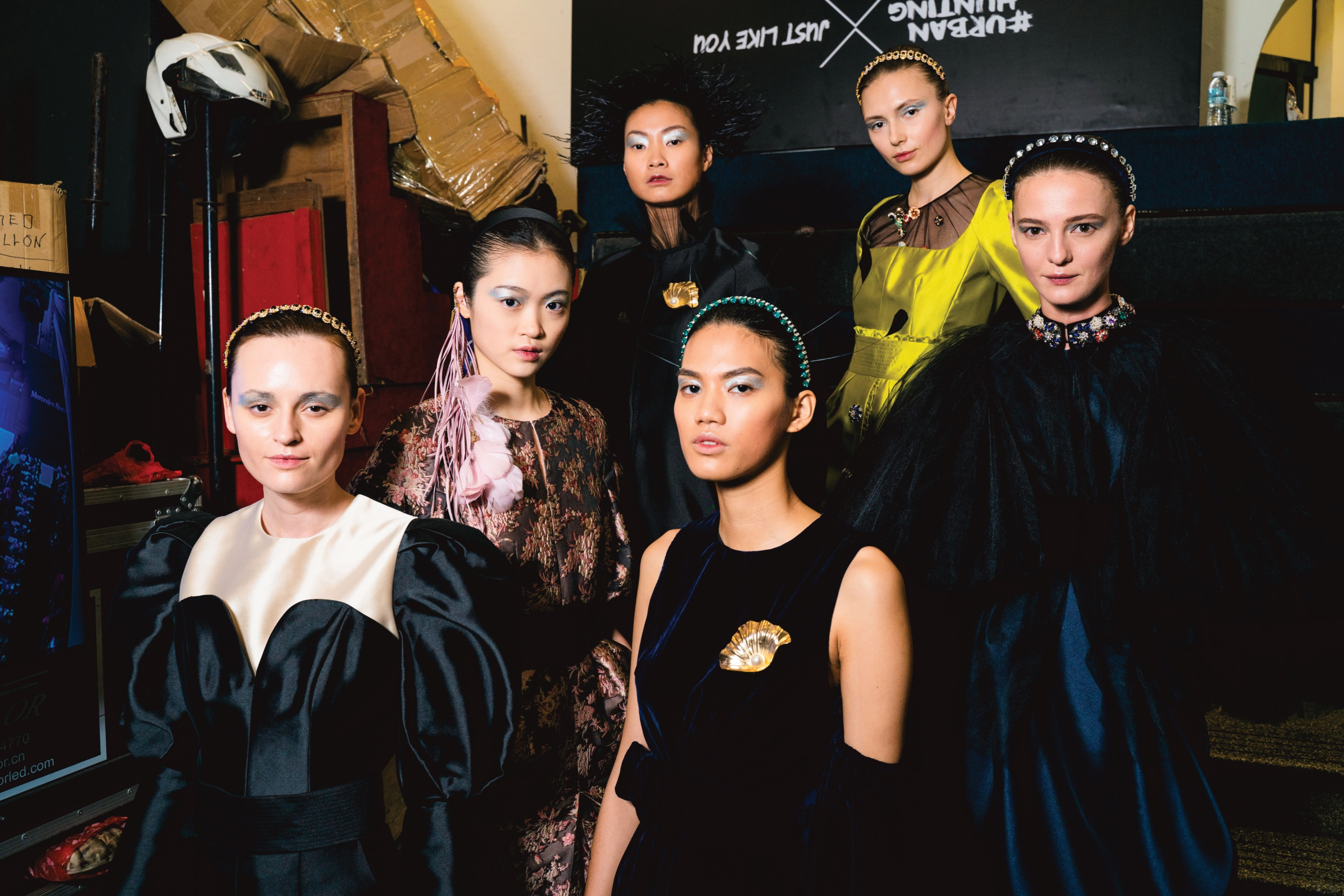 Khoon Hooi on his Fall/Winter 2019 collection runway show