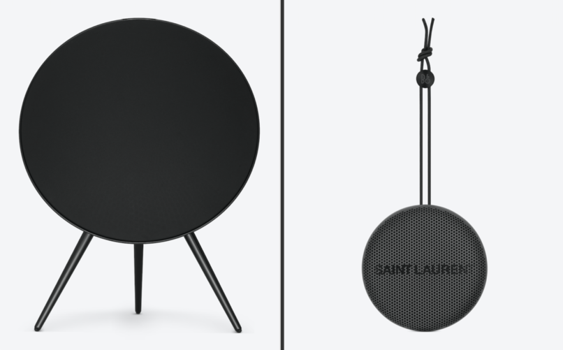 Saint Laurent and Bang & Olufsen launch two limited-edition speakers