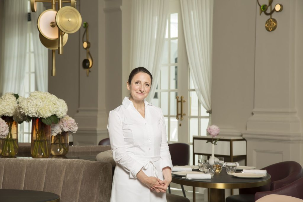 Chef Anne Sophie Pic (Photo: Raffles Singapore)