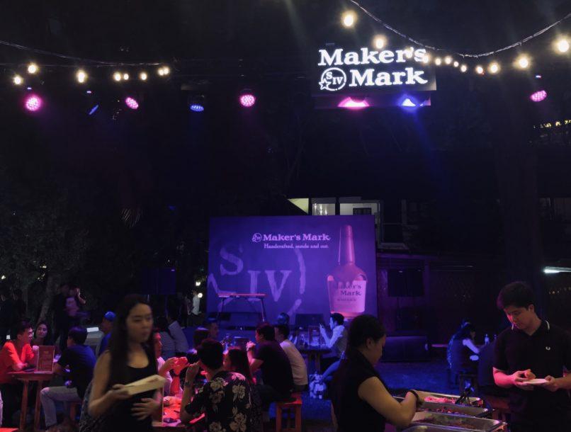 Maker's Mark pop up