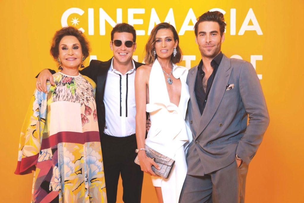 Bvlgari Cinemagia launch party in Capri, Italy