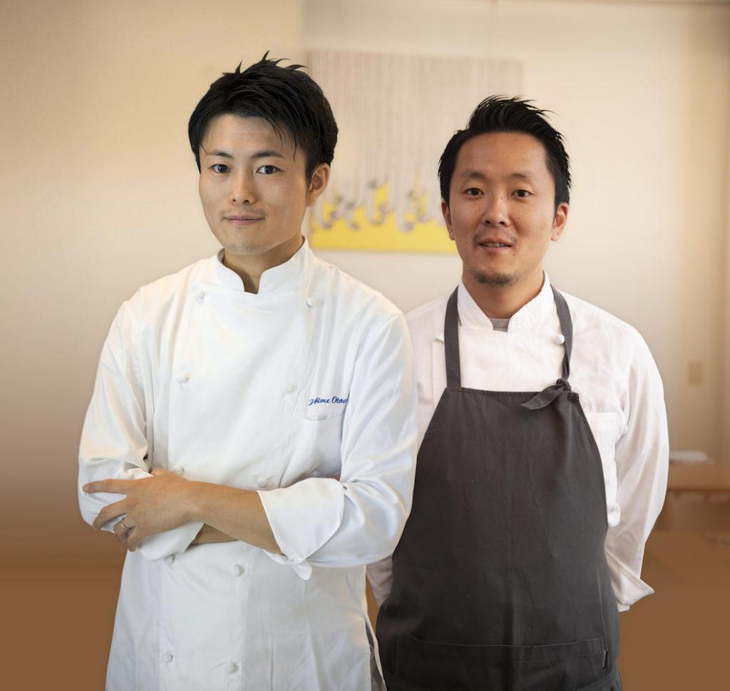 Chefs Hajime and So Otowa