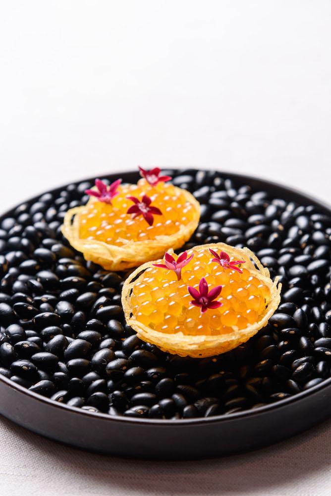 Potato's Nest with Char Caviar