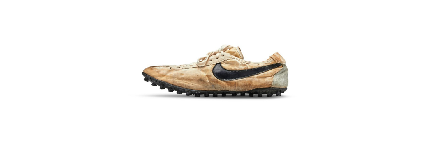 Nike running shoes sold for US$437,500, smashing auction