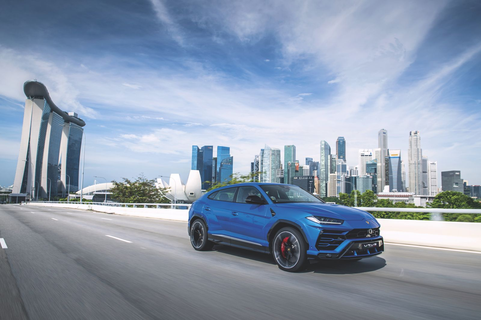 We test drive the world's first super SUV — the Lamborghini Urus