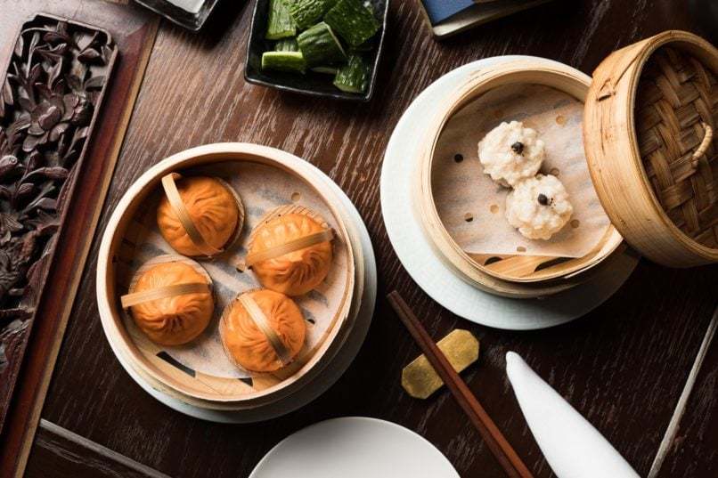 Dim sum at Mott 32 Hong Kong (Photo: Mott 32)