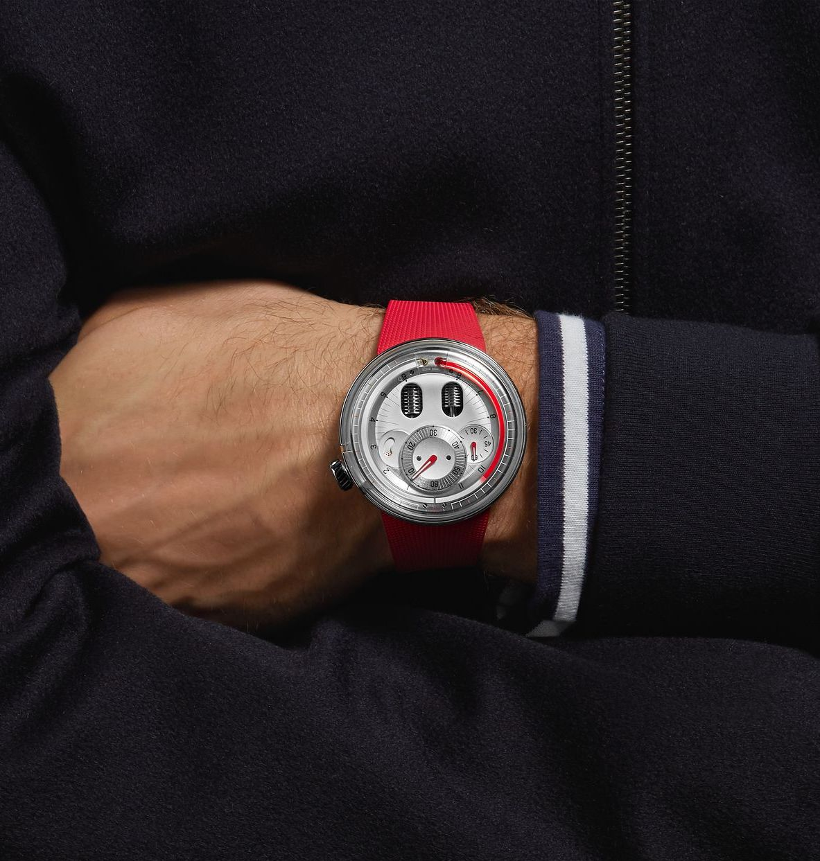 Watch brand HYT launches at men's style portal Mr Porter