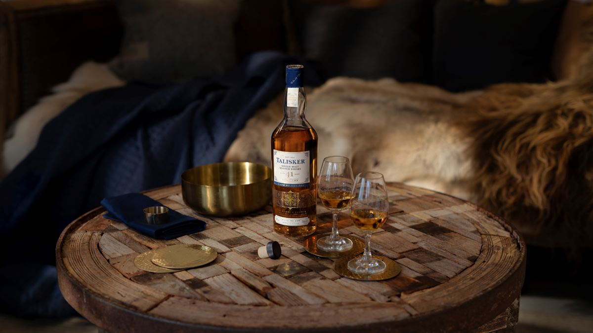 Experience the sweet fieriness of the new limited edition Talisker 41-year-old single malt