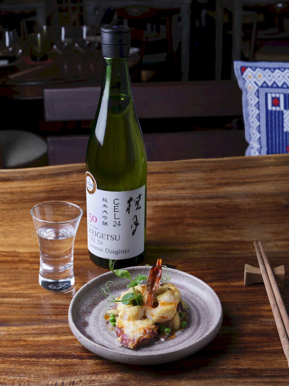 Sake loves seafood Morsels