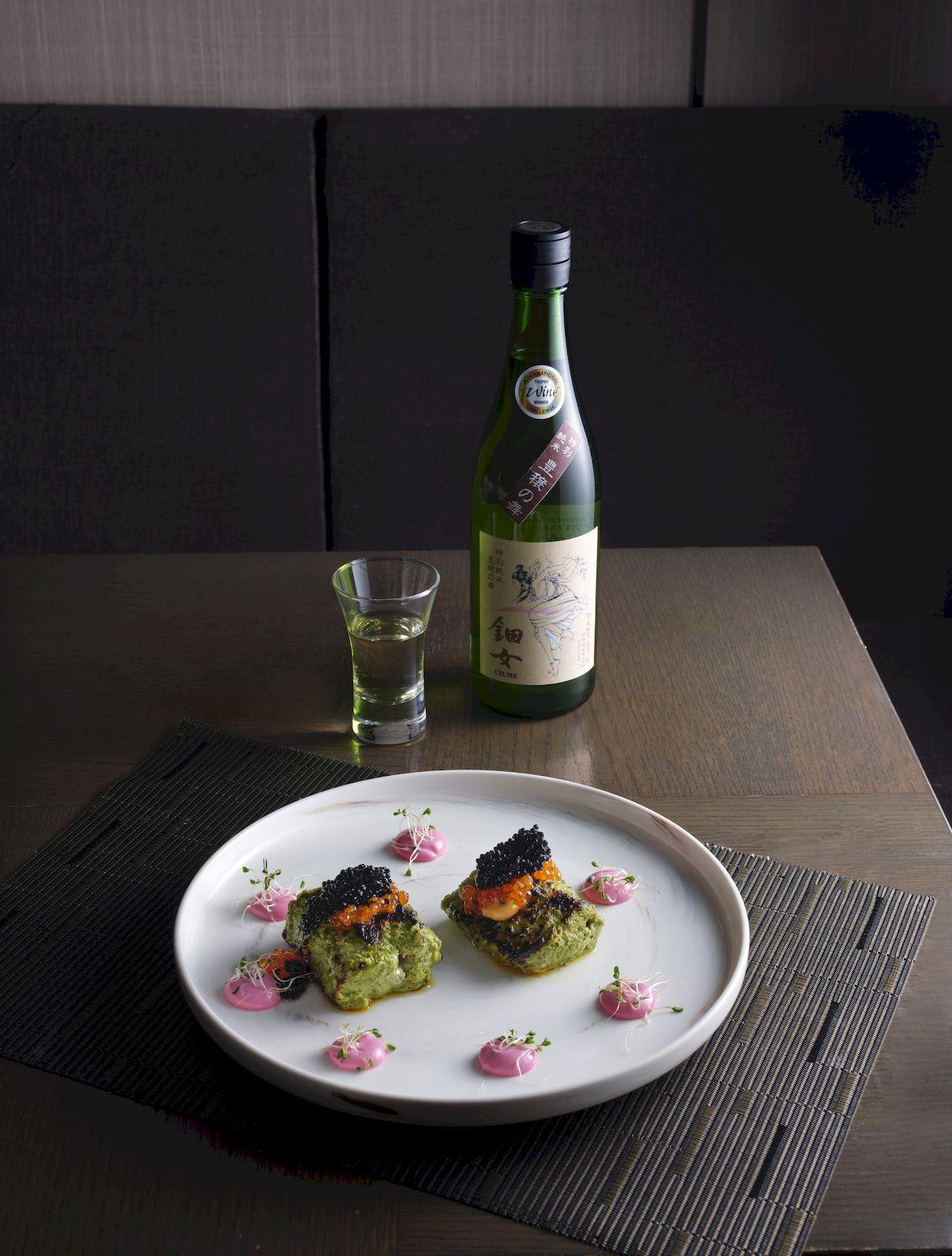 Sake loves seafood Punjab Grill