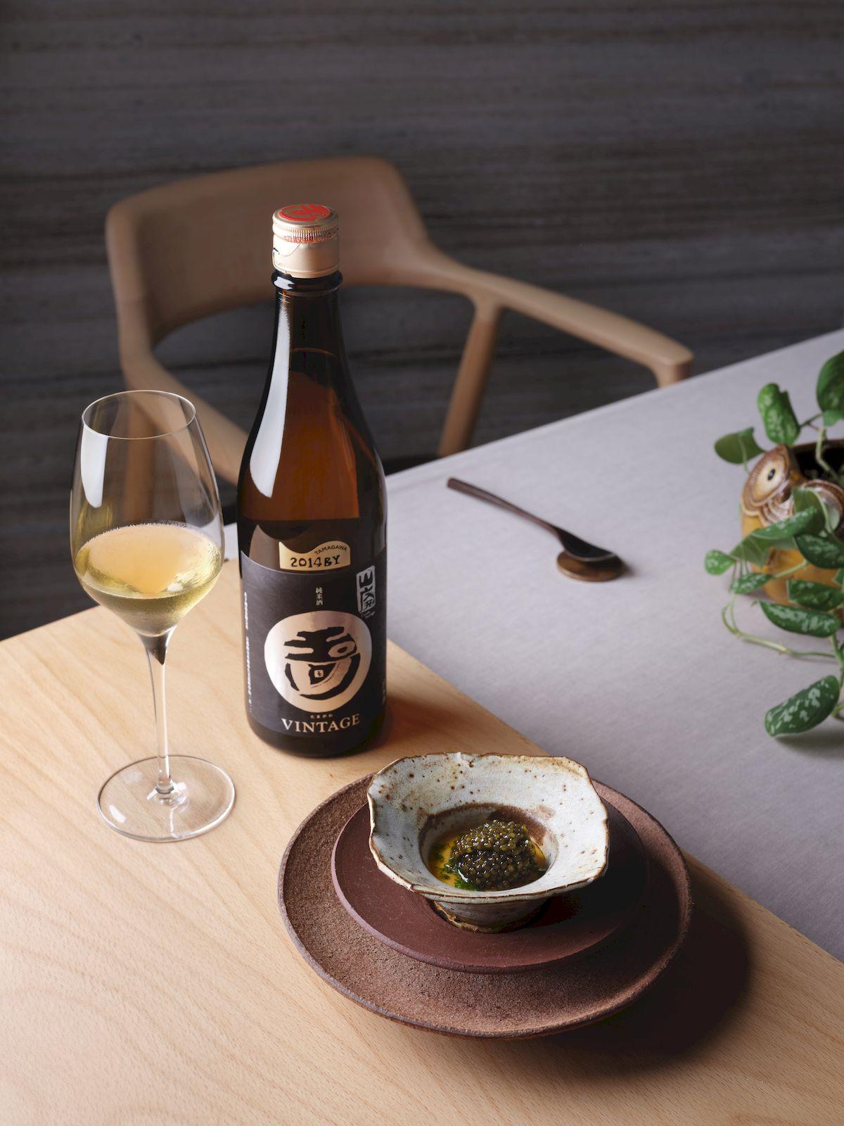 Sake loves seafood Zen
