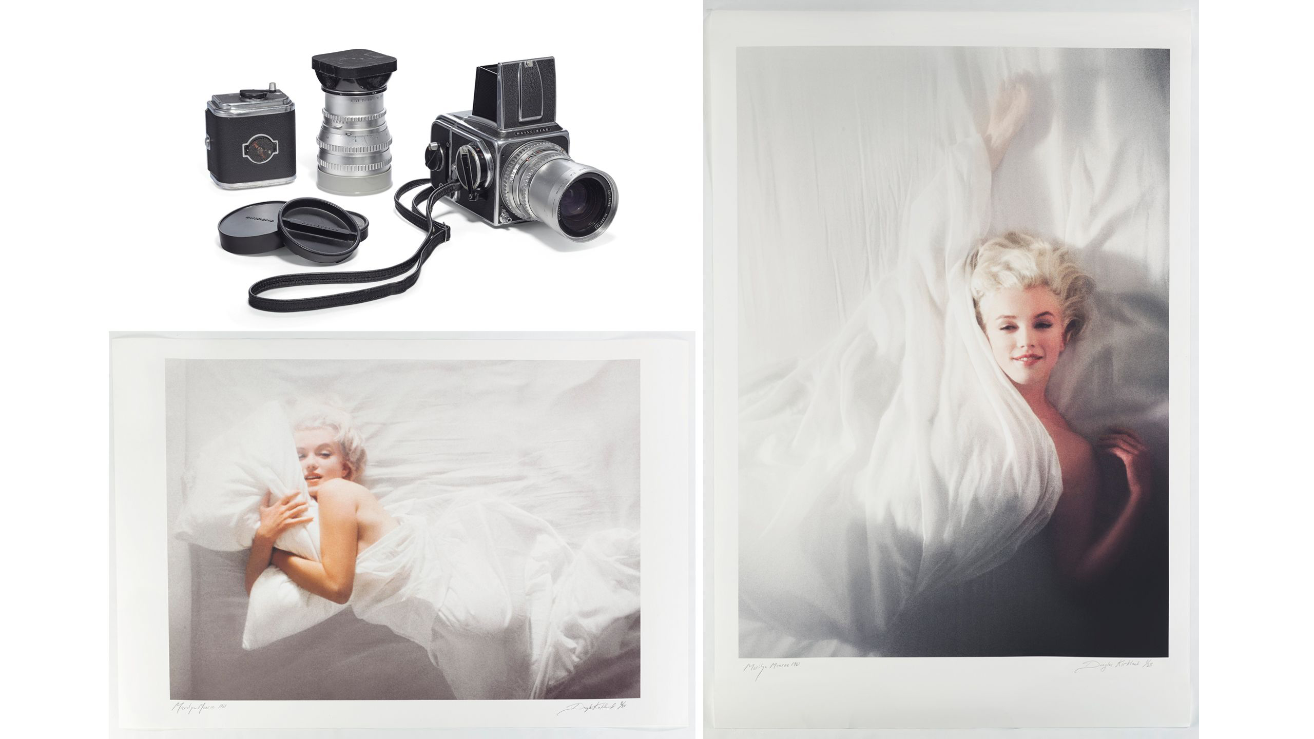 Christie's to auction off iconic photos of Marilyn Monroe taken by photographer Douglas Kirkland