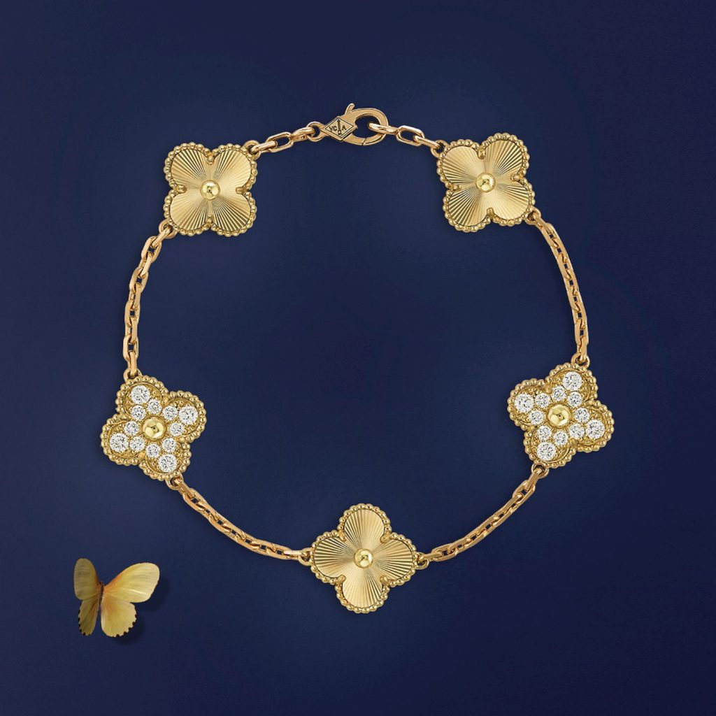 Van Cleef & Arpels' Alhambra collection