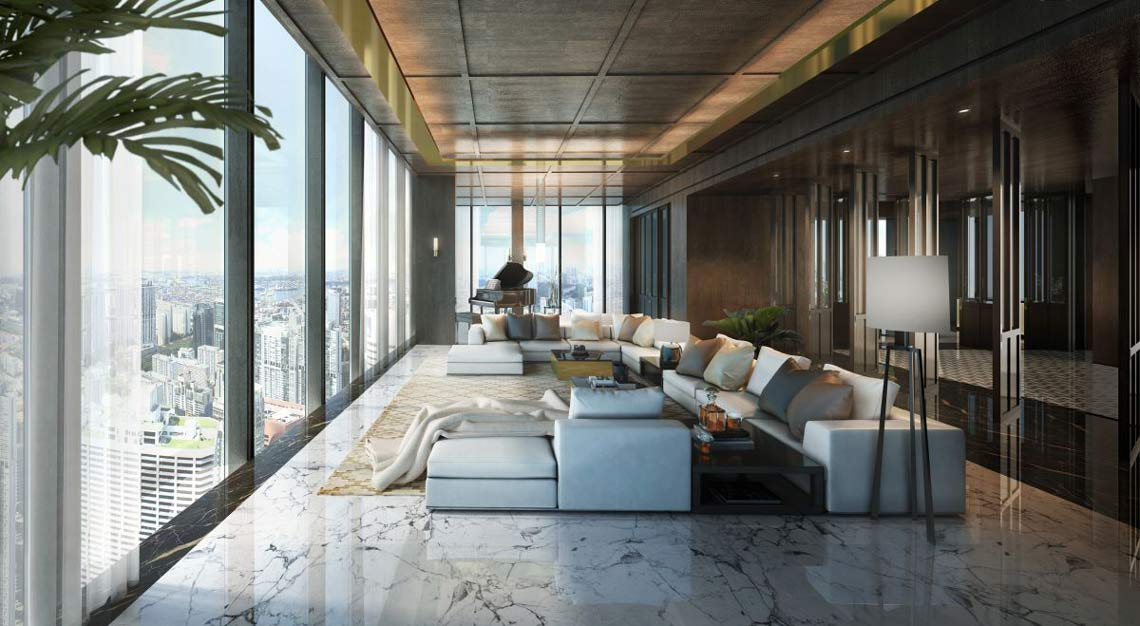 The rise of super penthouse