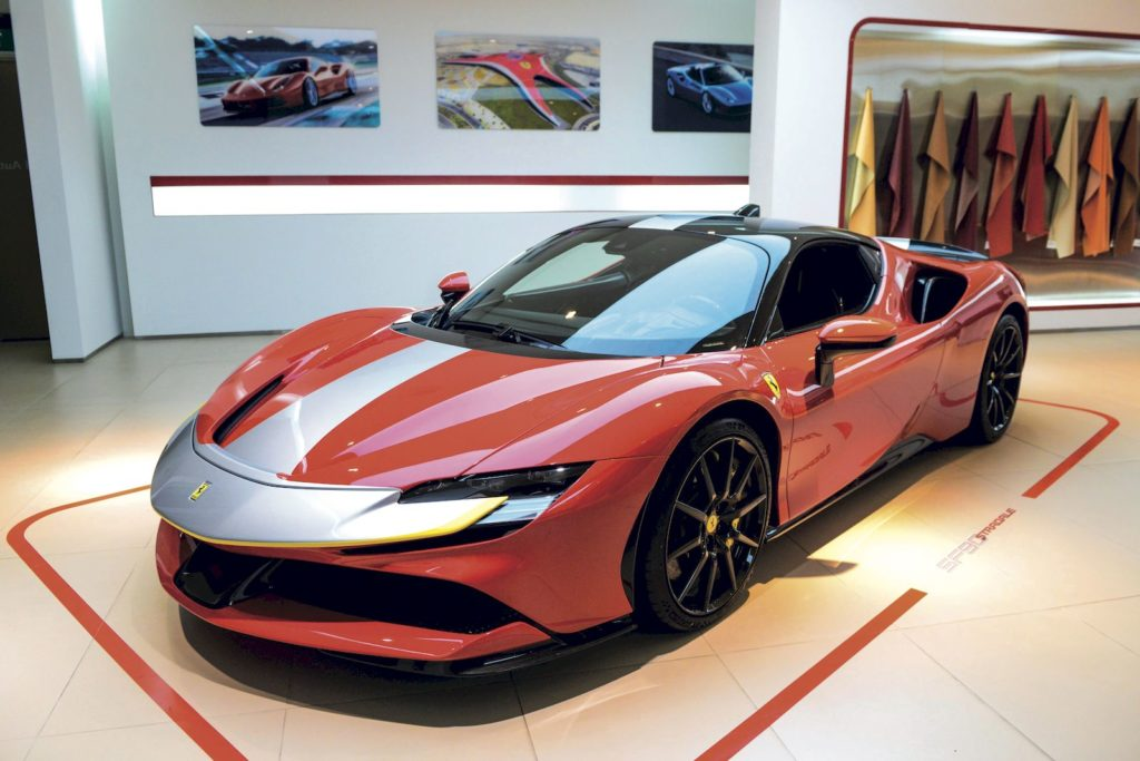 Prestige and Ferrari event