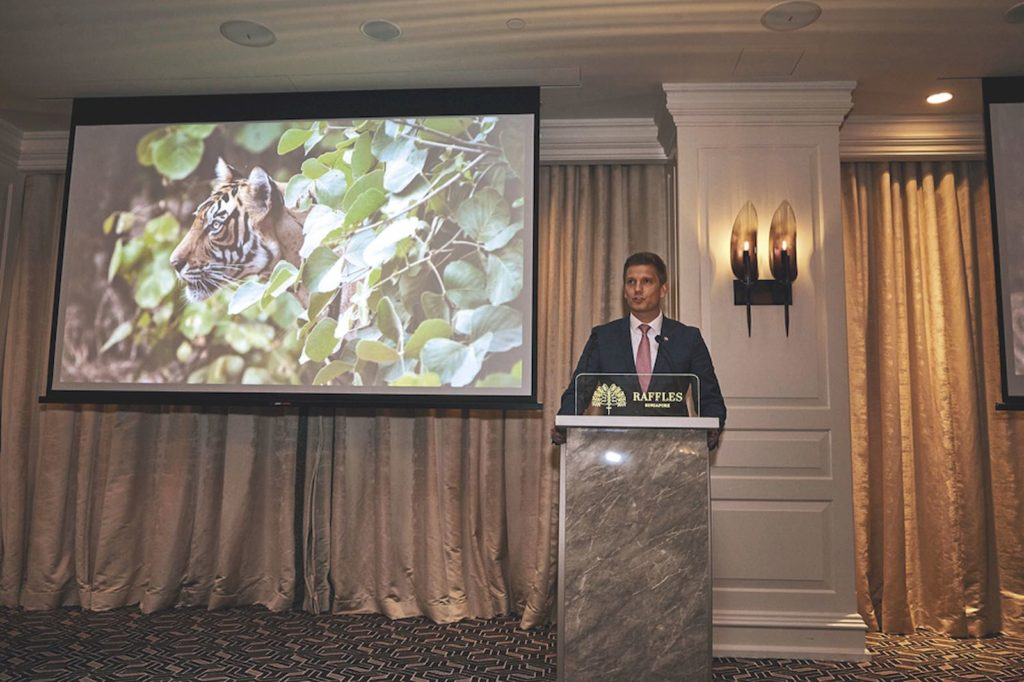 Save Wild Tigers fund raising