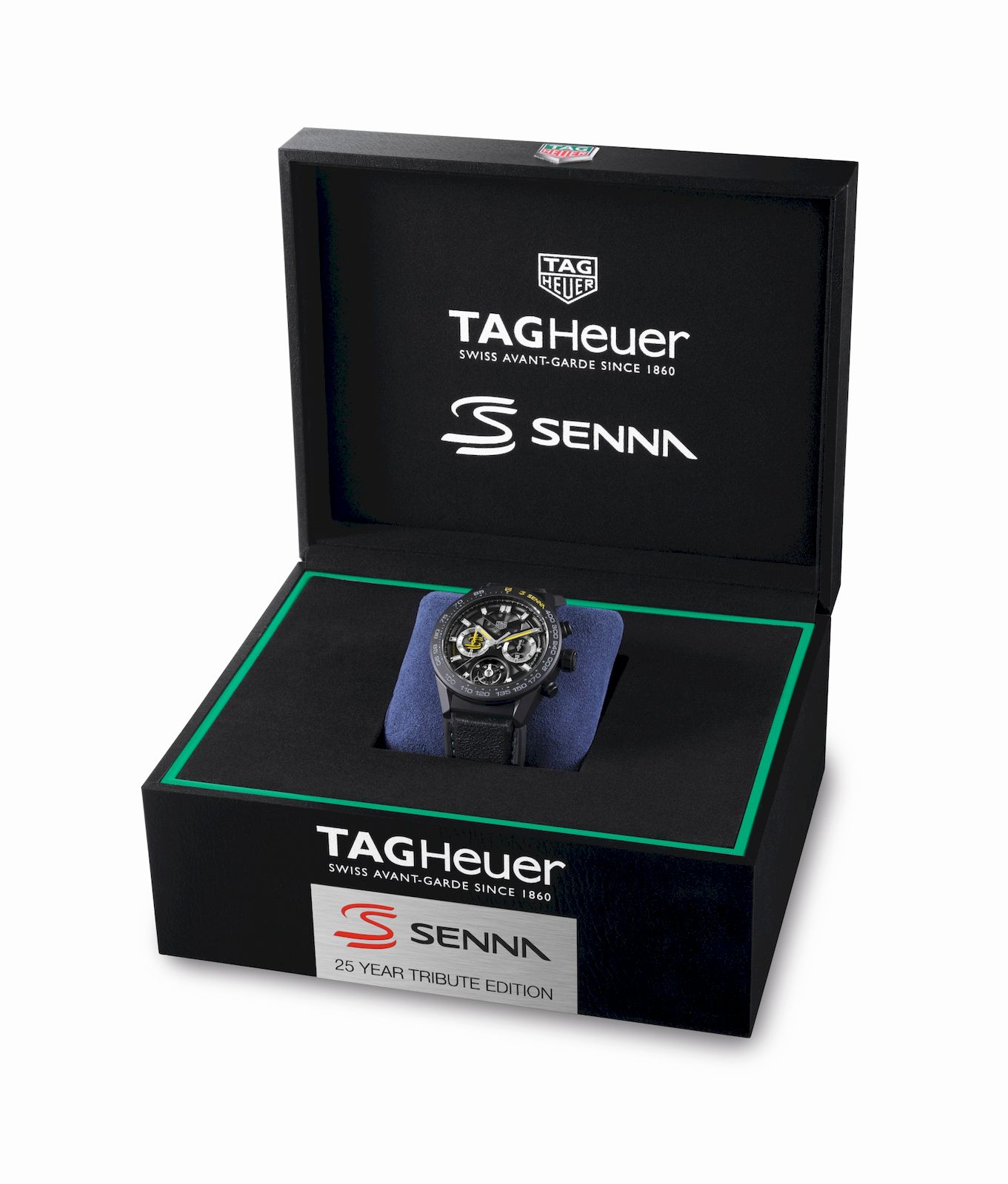 TAG Heuer pays homage to legendary drivers Ayrton Senna and Fangio with three limited-edition watches