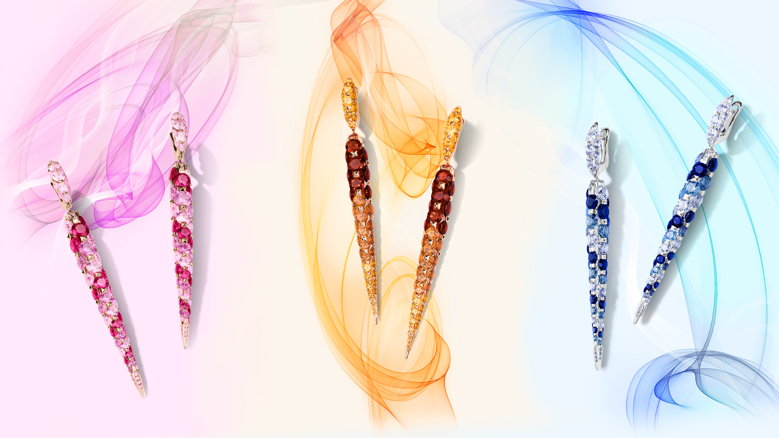 The Merveilles Collection is Timeless Jewellery in the Form of Colourful Works of Art