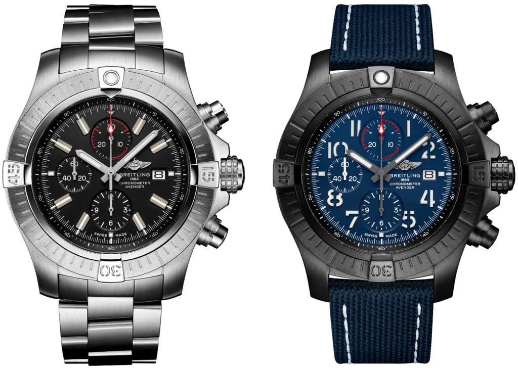 What you need to know about the new Breitling Avenger collection