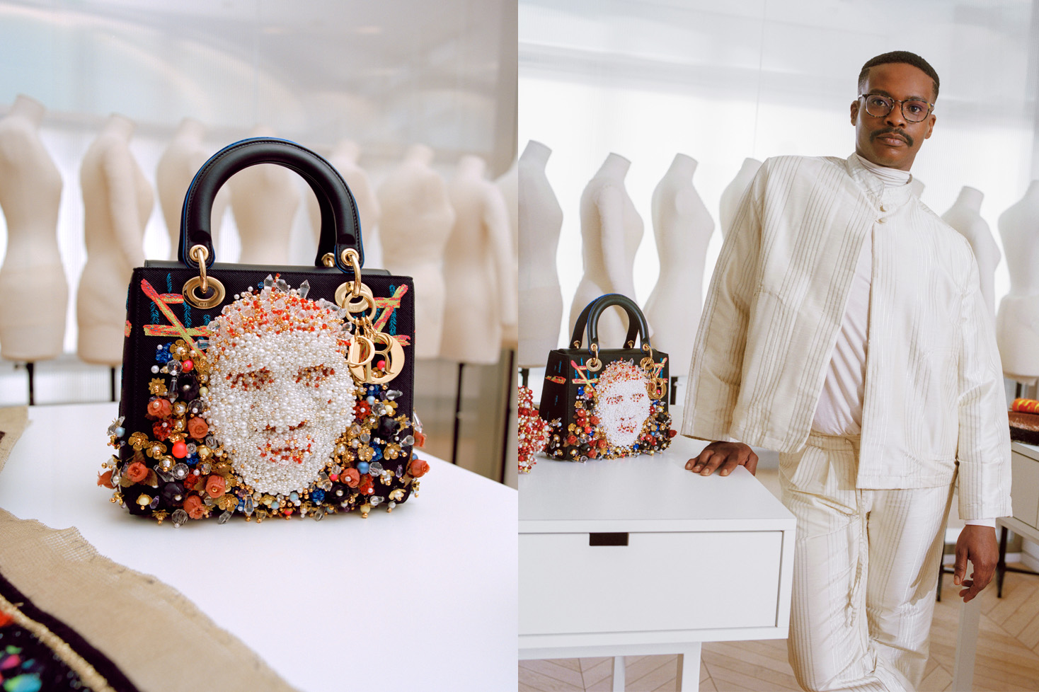 Lady Dior art 4 Raqib Shaw