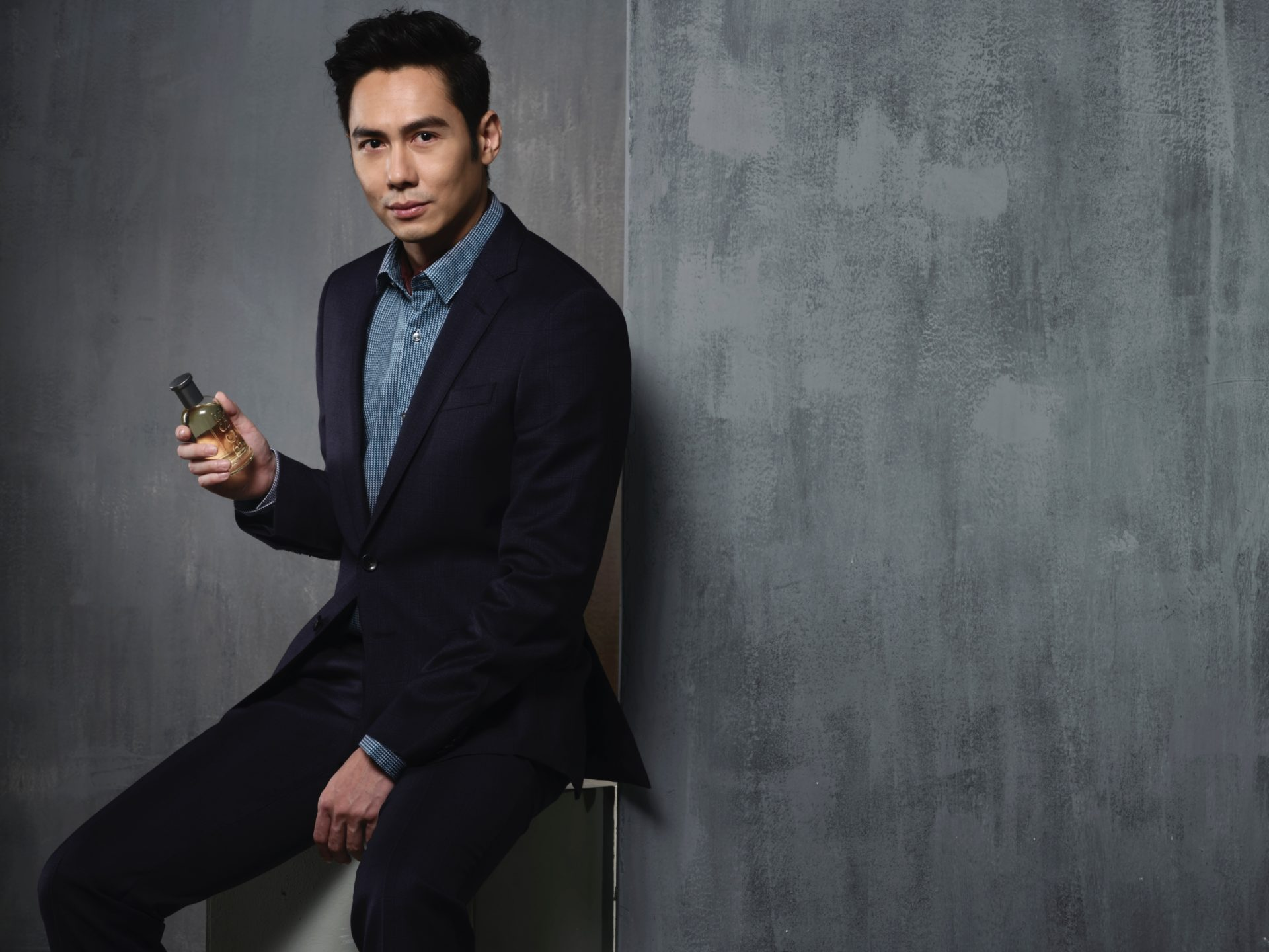 JC Chee on how he embodies the BOSS Bottled Man of Today