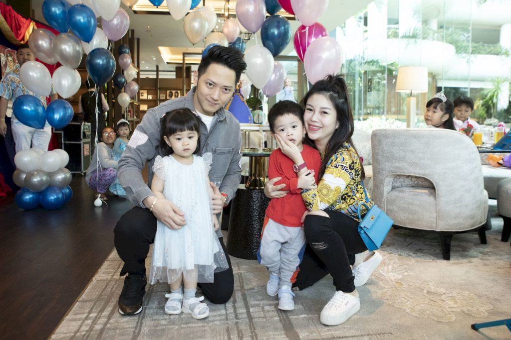 Serene Chua's daughter Bella Sng turns 3