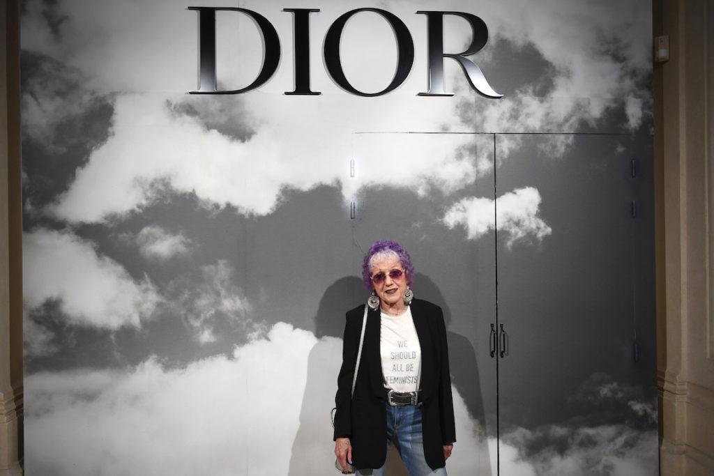 judy chicago dior