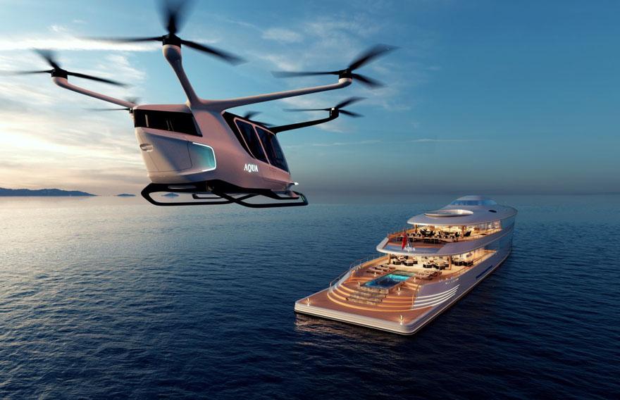 Meet the World's First Hydrogen-Powered Luxury Super Yacht