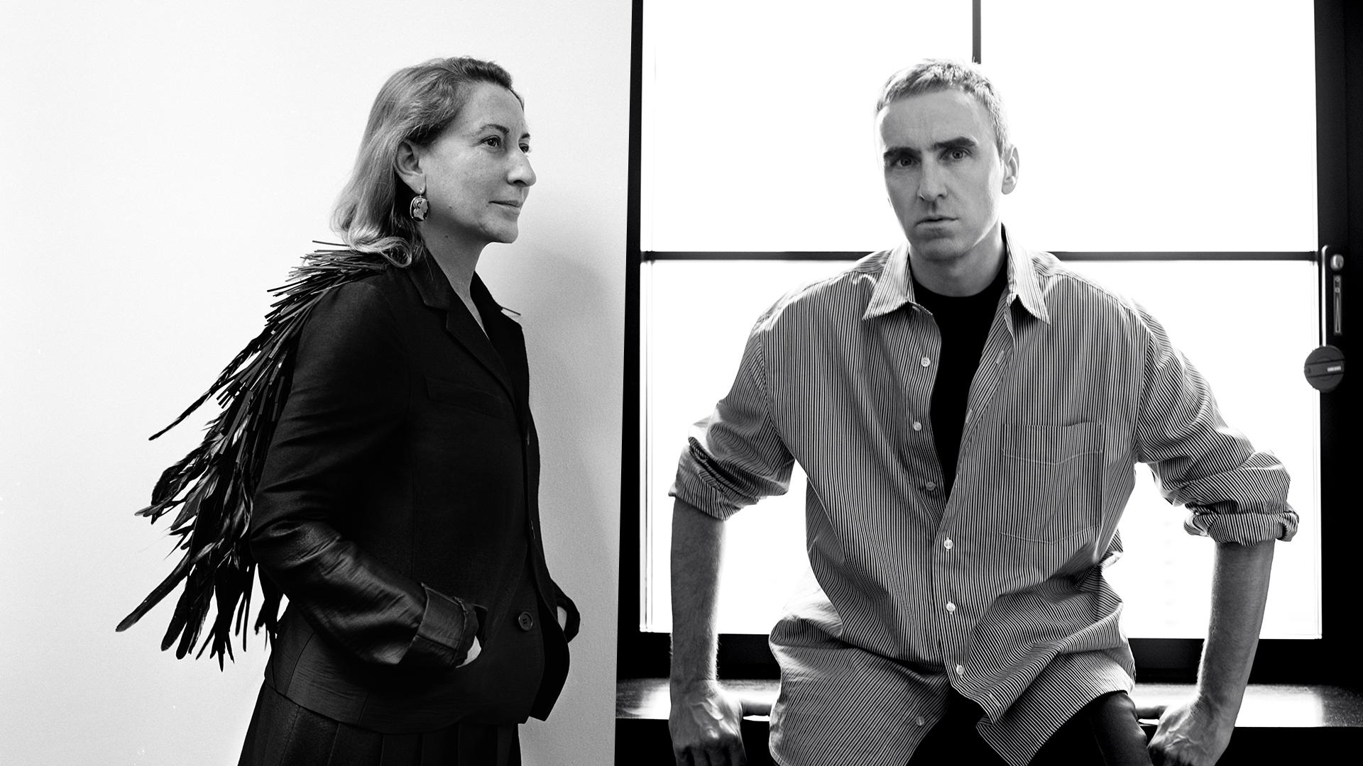 Raf Simons to be Prada's co-creative director