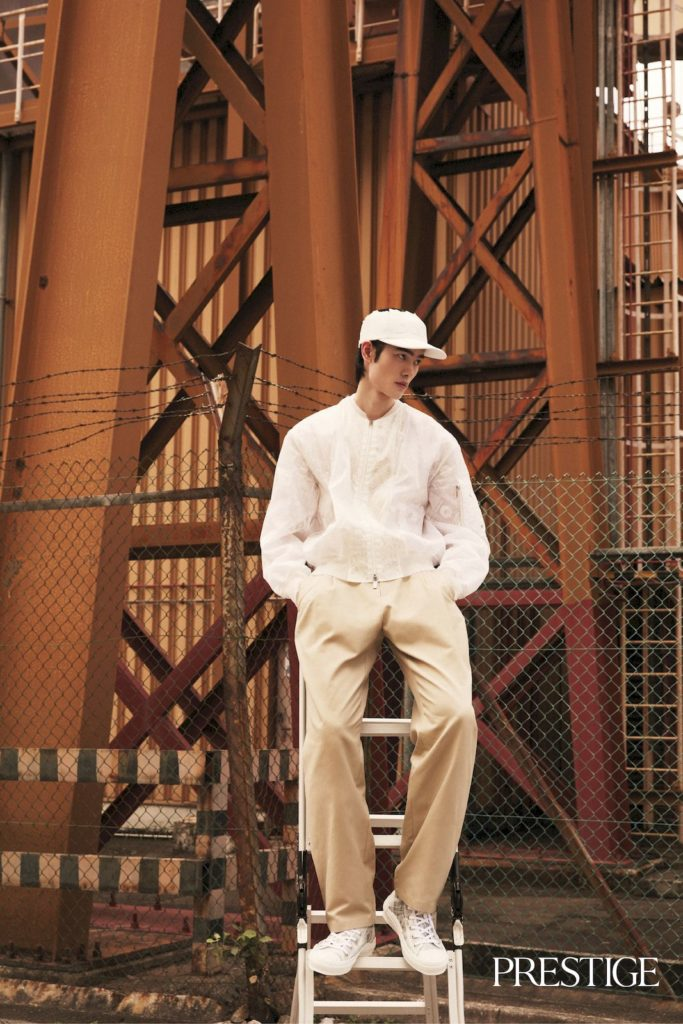 Men's fashion: Boys meet world