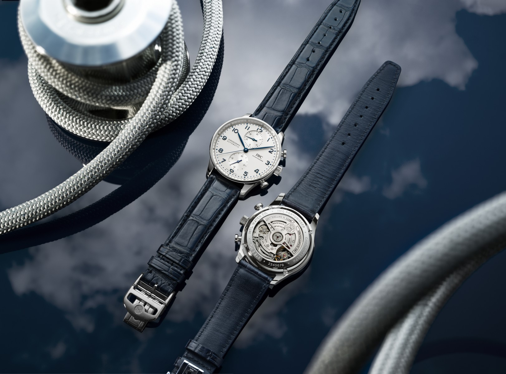 Portugieser Chronograph has new see-through back to view calibre mastery