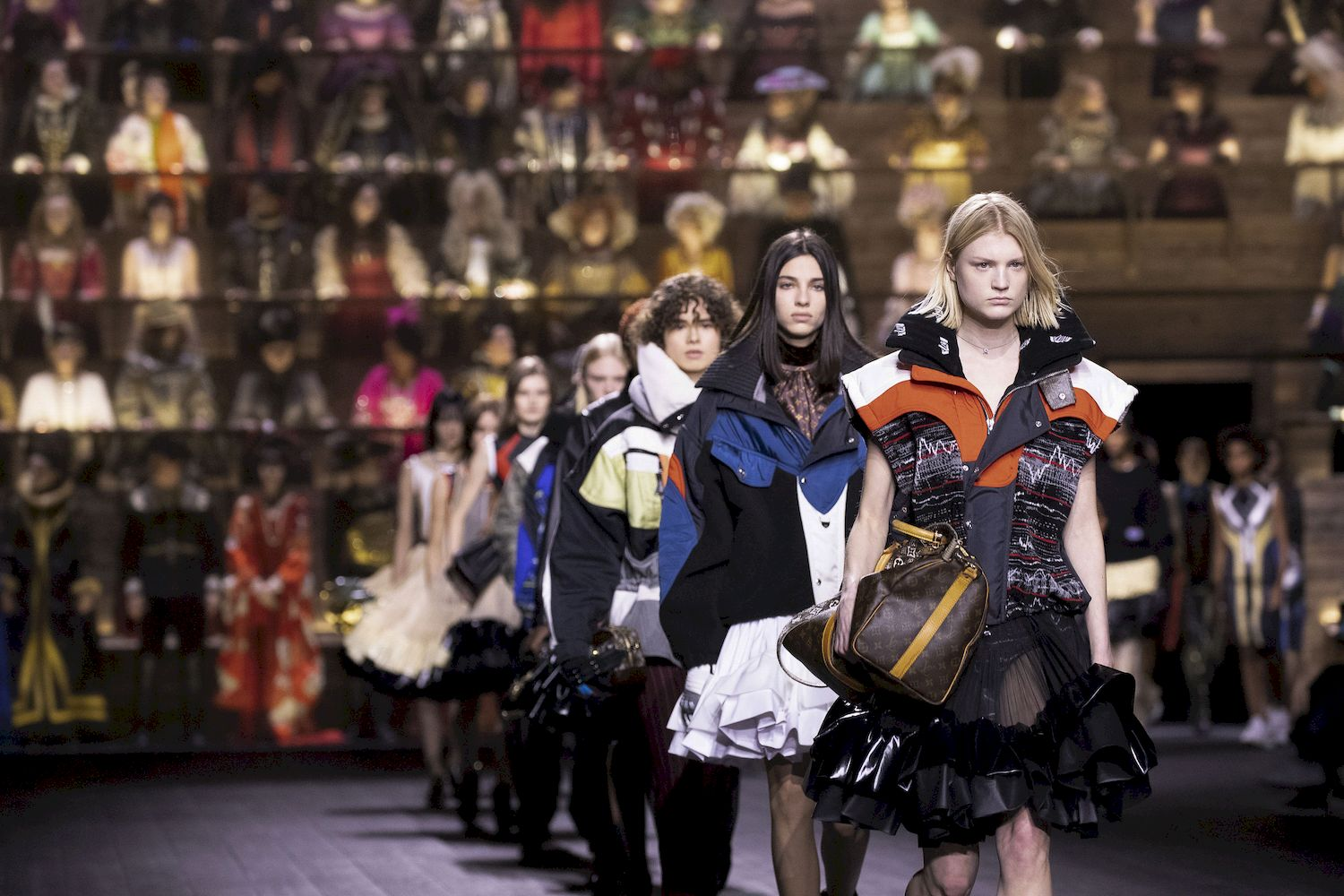 A spectacular clash of styles and genres at Louis Vuitton Fall/Winter 2020