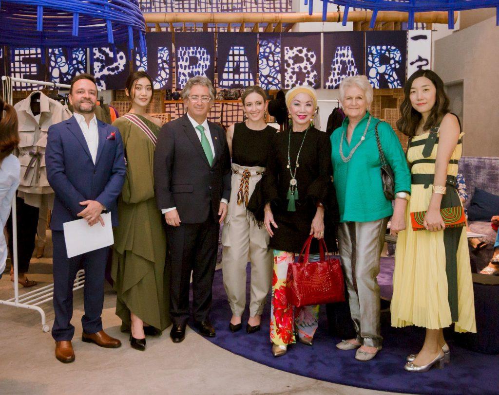 Colombian fashion designer Laura Aparicio's showcase