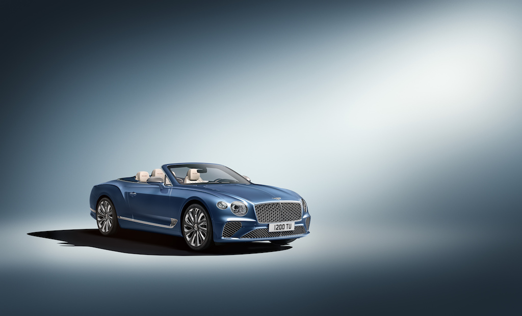 Breitling's Racy, New and Limited Edition Watch: the Premier Bentley Mulliner