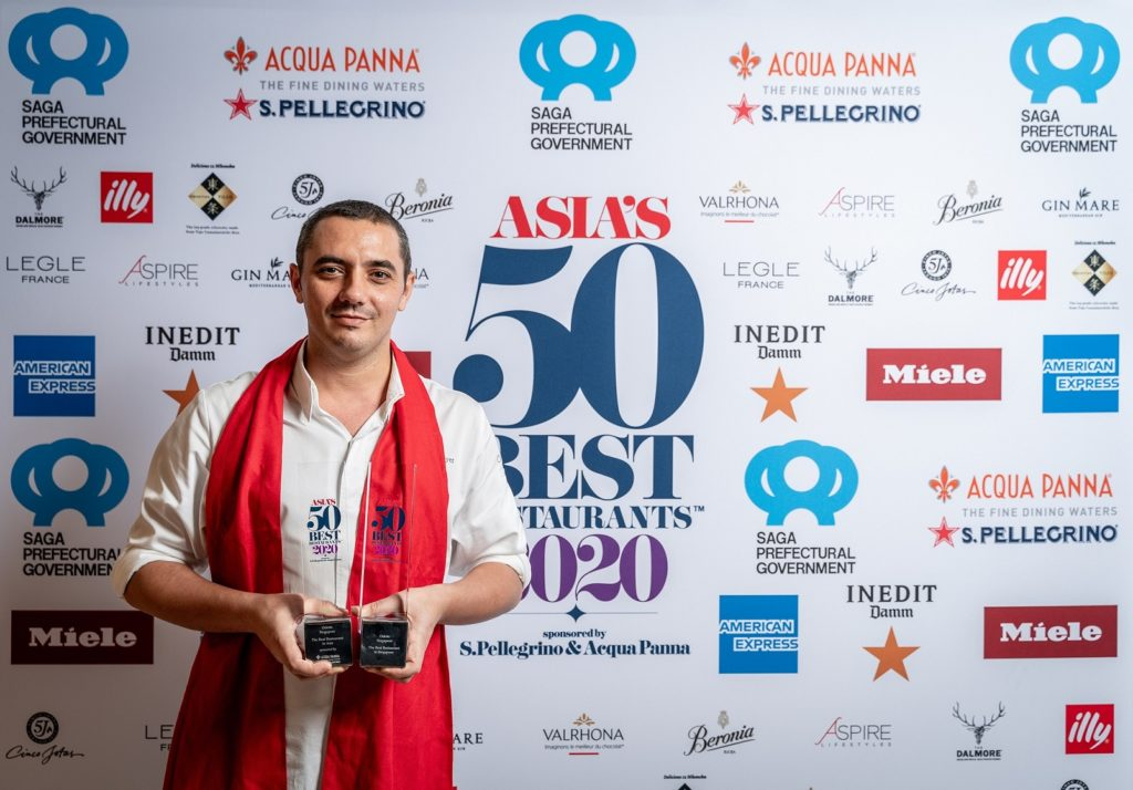 asia's 50 best restaurants 2020