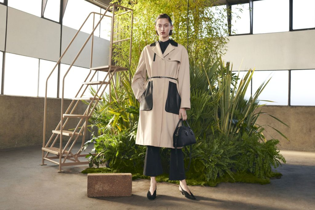 Tod's T Factory collaborates with Japanese label Mame Kurogouchi