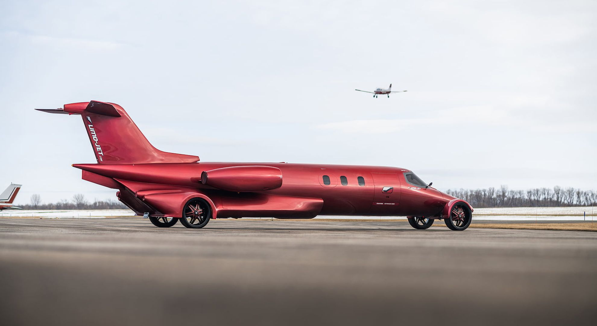 This weird and wonderful 'Limo-Jet' is a welcome distraction from the pandemic