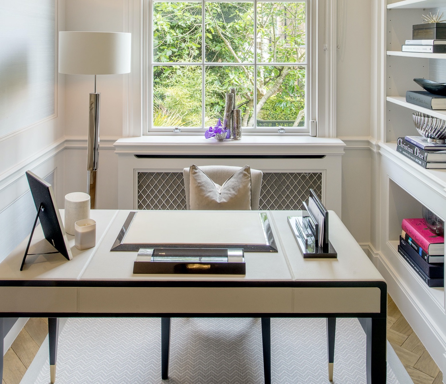 Interior Designer Katharine Pooley Shares Tips To Upgrade Your Home Office