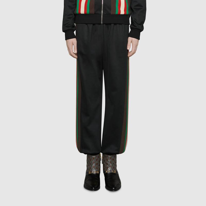 work from outfit fashion gucci track pants