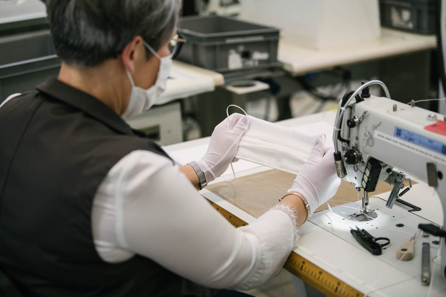 Louis Vuitton is Now Making Face Masks at its French Production Sites