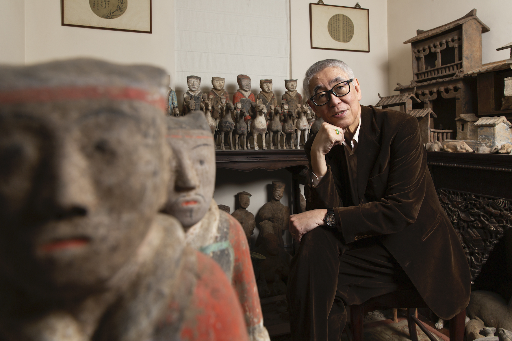 Veteran Broadcaster Robert Chua Invites us into His Home Filled with Chinese Antiques