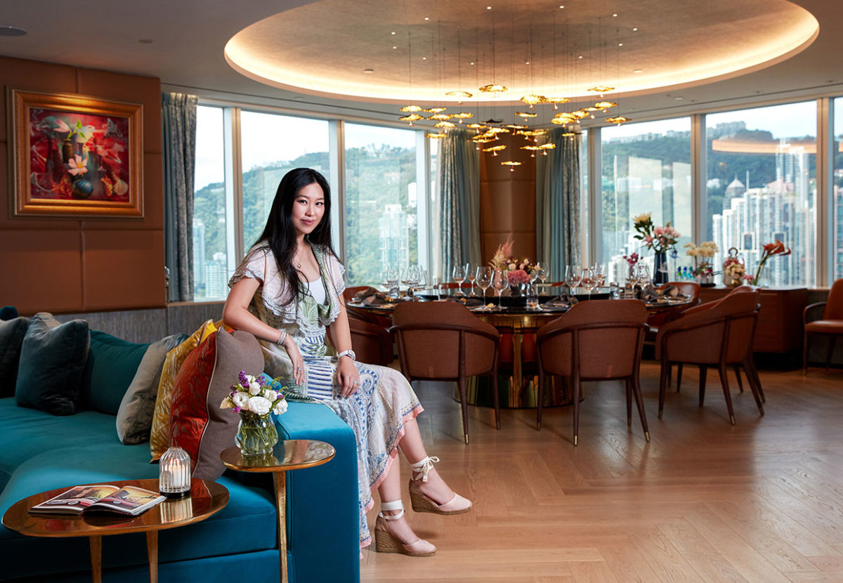 Inside The Sumptuous Central Clubhouse Designed By Kelly Lo