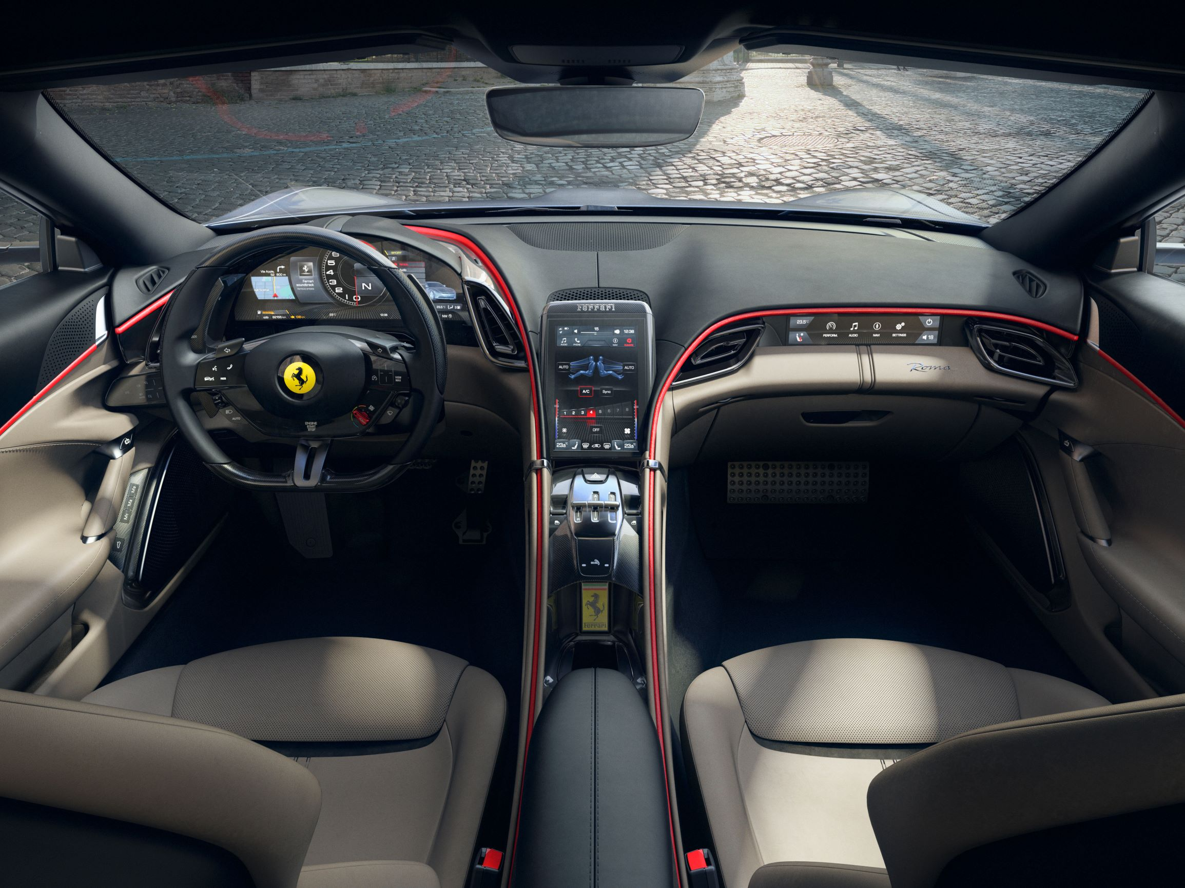 Fast Glamorous And Beautiful Check Out Ferrari S New Roma