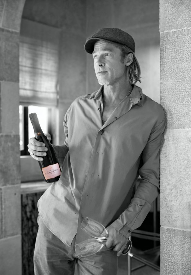 Brad Pitt is Releasing His Own Champagne Line