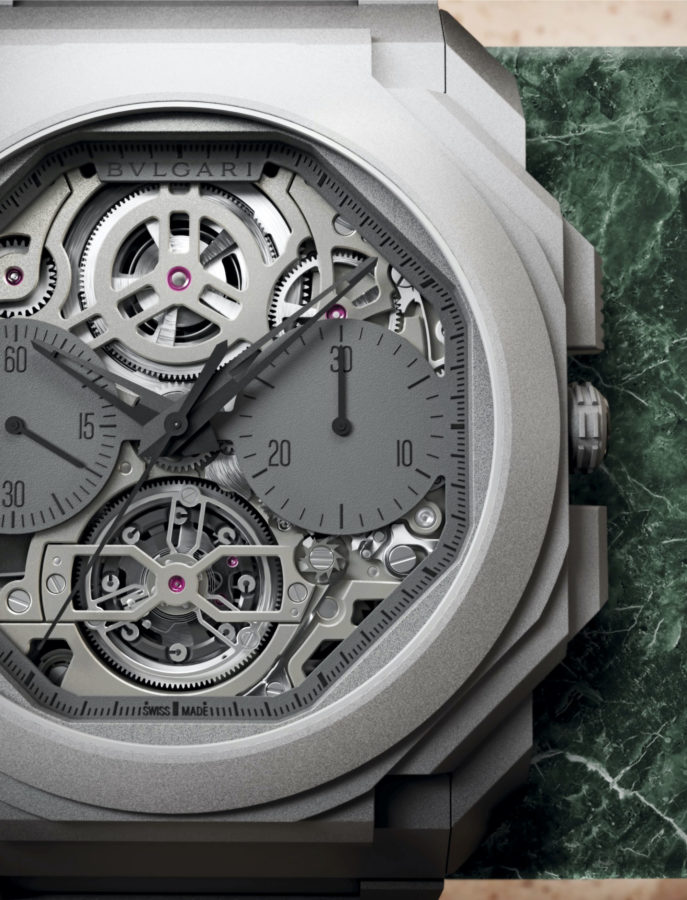 Bulgari has Created the World's Thinnest Tourbillon Chronograph