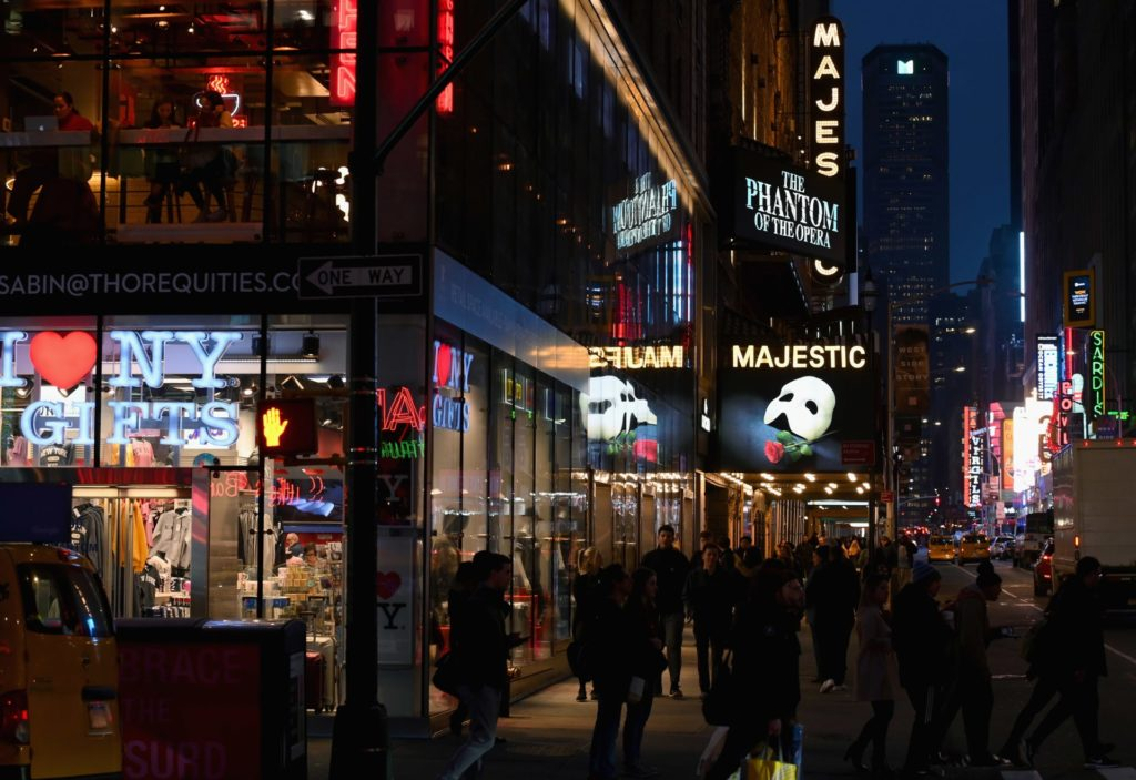 broadway reopens