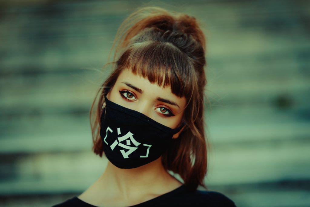 mask-wearing beauty