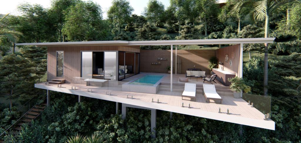 prefabricated villa