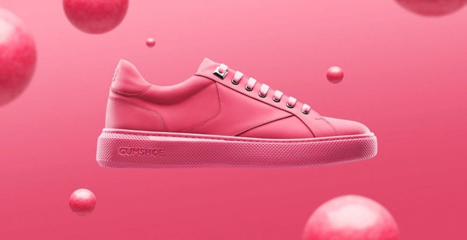 chewing gum sneakers